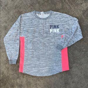 Victoria's Secret VS PINK Gray Crewneck Sweatshirt